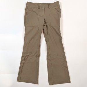 Ann Taylor Flare Leg Size 2 Khaki Career Pants